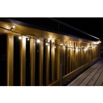 200 LED Lichterkette 10 meter Warmweiss koppelbar 10 Watt Innen/Außen